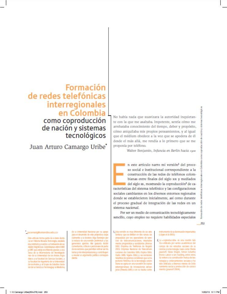 Camargo, J. (2013)