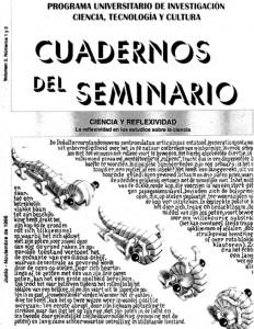 Ciencia y reflexividad: la reflexividad en los estudios sobre ciencia. Volumen 2, Números 1 y 2. Junio-Noviembre de 1996. Páginas: 99.